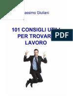 Massimo Giuliani - 101 Consigli Utili Per Trovare Lavoro (2013)