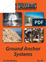 Ground Anchor Systems