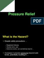 Pressure Relief Safety Valves