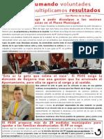 El PSOE de San Martín de La Vega Contra Los Desahucios