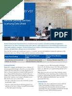 Windows Server 2012 R2 Remote Desktop Services Licensing Datasheet