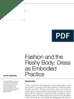 Fashion and the Fleshy Body