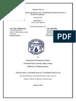 Revisedformat of Synoptic Note -Revised Abhishek (