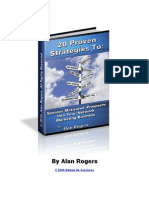 20 Proven Strategies to Sponsor Motivated Prospects to Your Network Marketing Business
