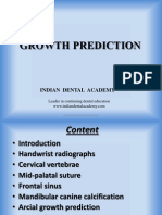 Growth Predictions / orthodontic courses by Indian dental academy