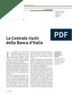 La Centrale Rischi della Banca d'Italia