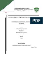 Laboratorio de Teoría de Radiadores Electromagnéticos