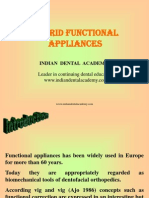 Hybrid Functional Appliance / orthodontic courses by Indian dental academy