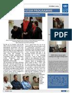 Unmit Justice Program Newsletter Oct 09