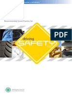 Recommended Good Practice for Driving Safety