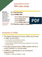 CORBA Case Study