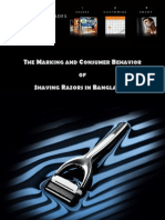THE MARKETING AND CONSUMER BEHAVIOR OF SHAVING RAZOR IN BANGLADESH.