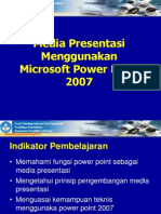 Presentasi Power Point 2007