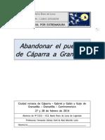 Cuadernillo Ruta Cultural Por Extremadura Caparra Granadilla Grabiel y Galan