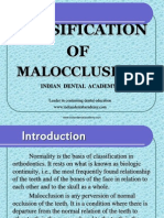 Mal Occlusion / orthodontic courses by Indian dental academy