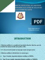 antidiabetic potential of plants