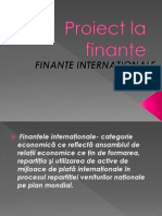 Finante Internationale