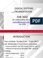 Lecture 1- Electronic Measurement Systems