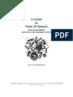 Parts of Speech Handbook