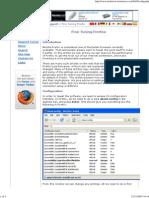 Fine Tuning Firefox