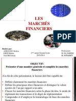 Les Marchés Financiers- Exposé