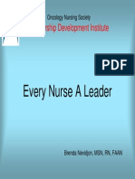 Every Nurse a Leader