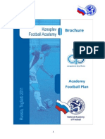Brochure Konoplev Football Academy Nov11