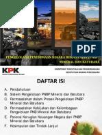 Kajian KPK Sistem PNPB Mineral Dan Batubara