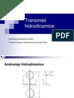 TRANSMISII HIDRODINAMICE