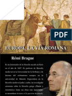 Europa, La Vía Romana (1)