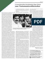 Bolívars kühner Testamentsvollstrecker