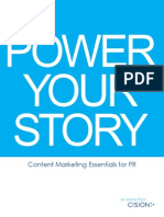 Cision 2013 eBook ContentMarketingforPR