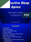 Obstructive Sleep Apnea- Dr.M.M.varadharaja / orthodontic courses by Indian dental academy