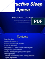 Obstructive Sleep Apnea- Dr.M.M.varadharaja / orthodontic courses by Indian dental academy