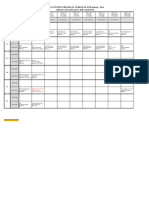 MBA Evening Program Schedule for Spring 2014