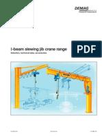 DEMAG - I-Beam Slewing Jib Crane Range