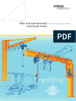 DEMAG - Pillar and Wall-Mounted Slewing Jib Cranes