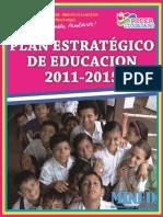 Plan Estrategico de Educacion 2011_2015