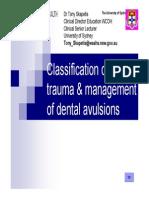 Dental Injuries - Tony Skapetis