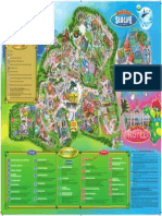 Gardaland - mapa