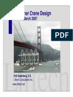 LIFTECH - Container Crane Design