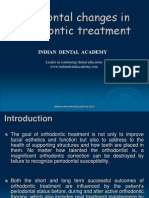 Periodontal Changes in Ortho Treatment / orthodontic courses by Indian dental academy