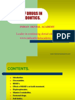 Role of Drugs in Orthodontics / orthodontic courses by Indian dental academy