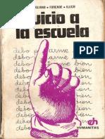 Illich, I. El Capitalismo Del Saber. Parte 1