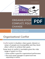 Orgn Conflict and Plitics