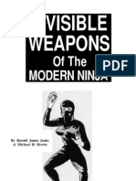 Harold James Jenks - Invisible Weapons Of The Modern Ninja
