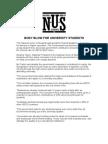 NUS Media release national union of students australia