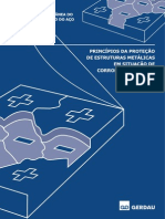 Princípios Da Proteção de Estruturas Metálicas Em Situação de Corrosão e Incêndio
