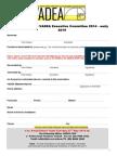 2014.15 Nomination Form Executive Position