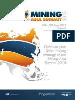 Asia Mining Summit 2013